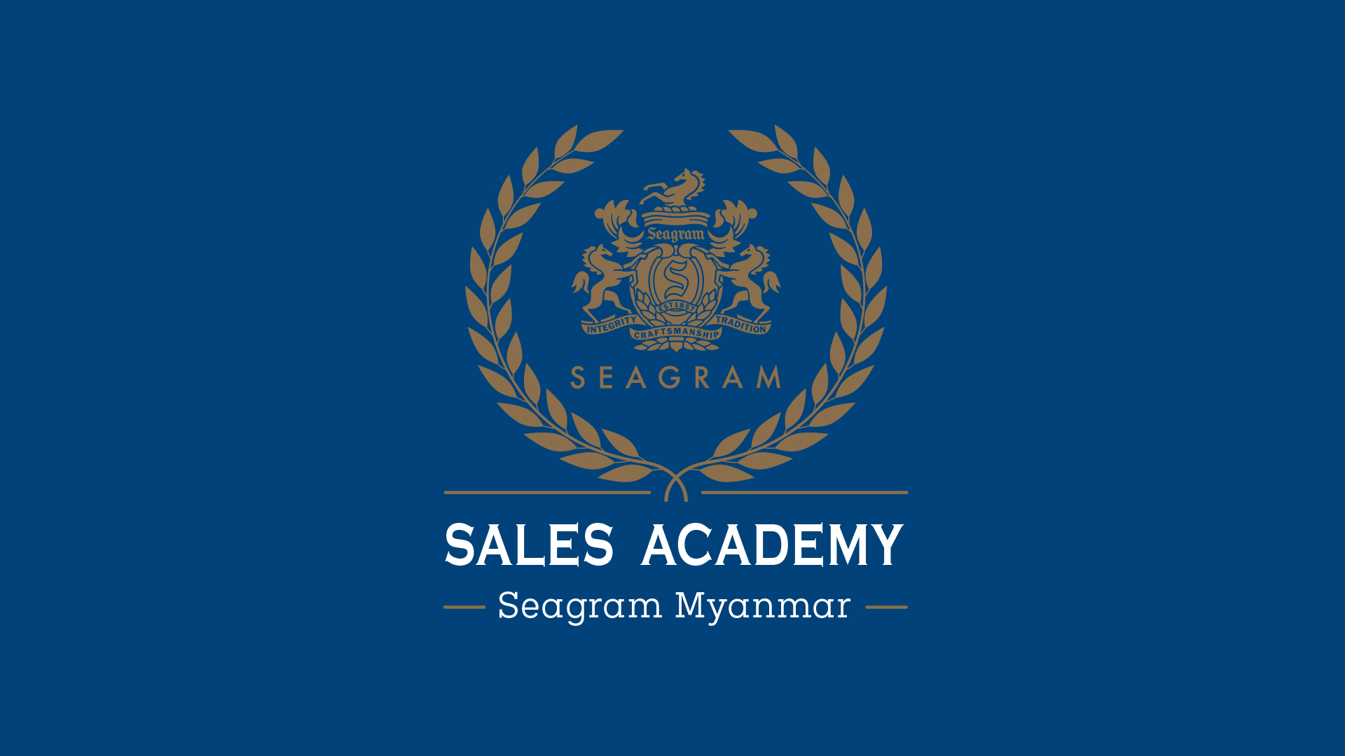 Seagram Myanmar Sales Academy - Level 1