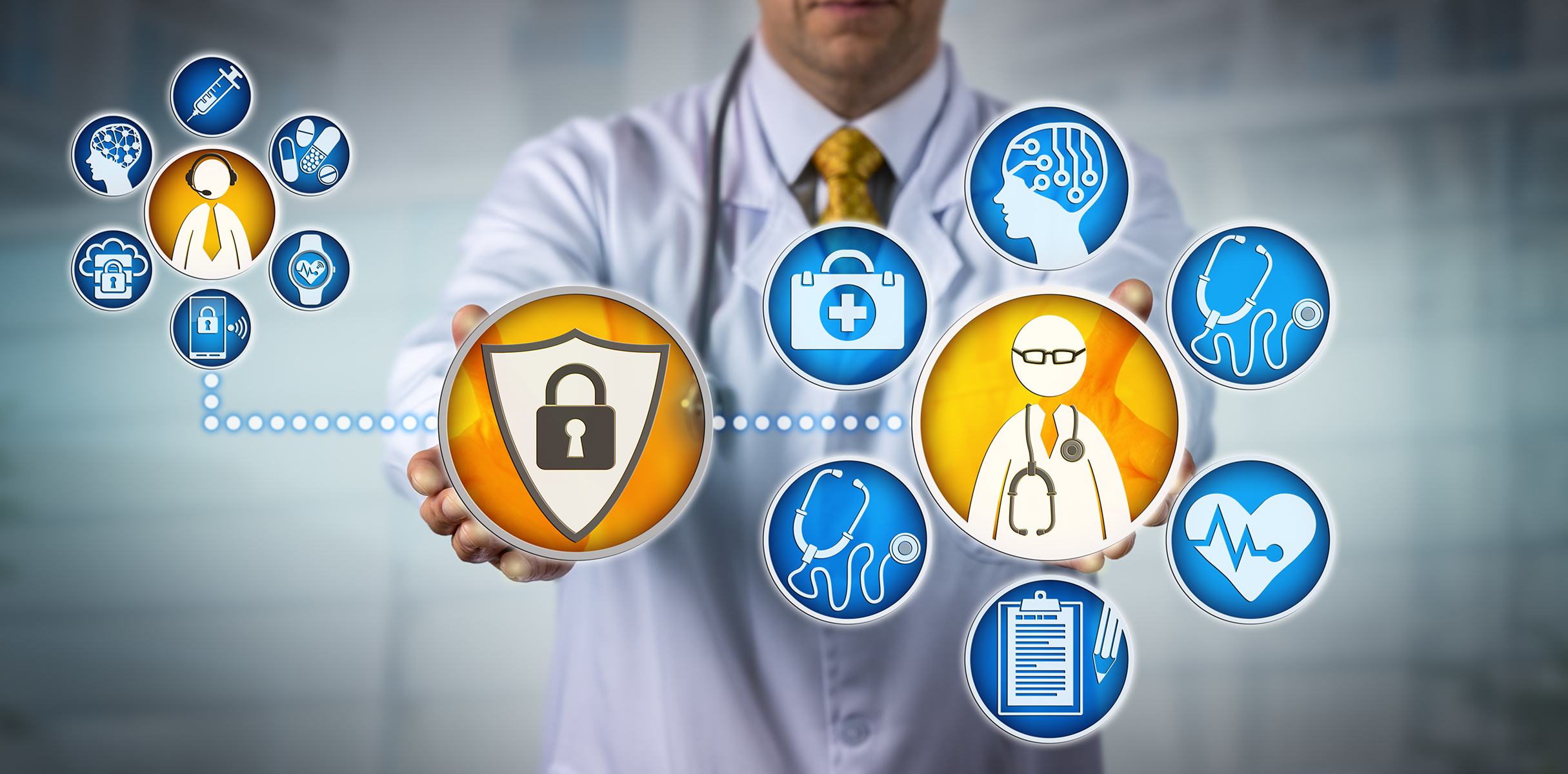 So what does HIPAA protect? Any data in a patient's medical record that can be used to personally identify them - in HIPAA terms, protected health information (PHI).