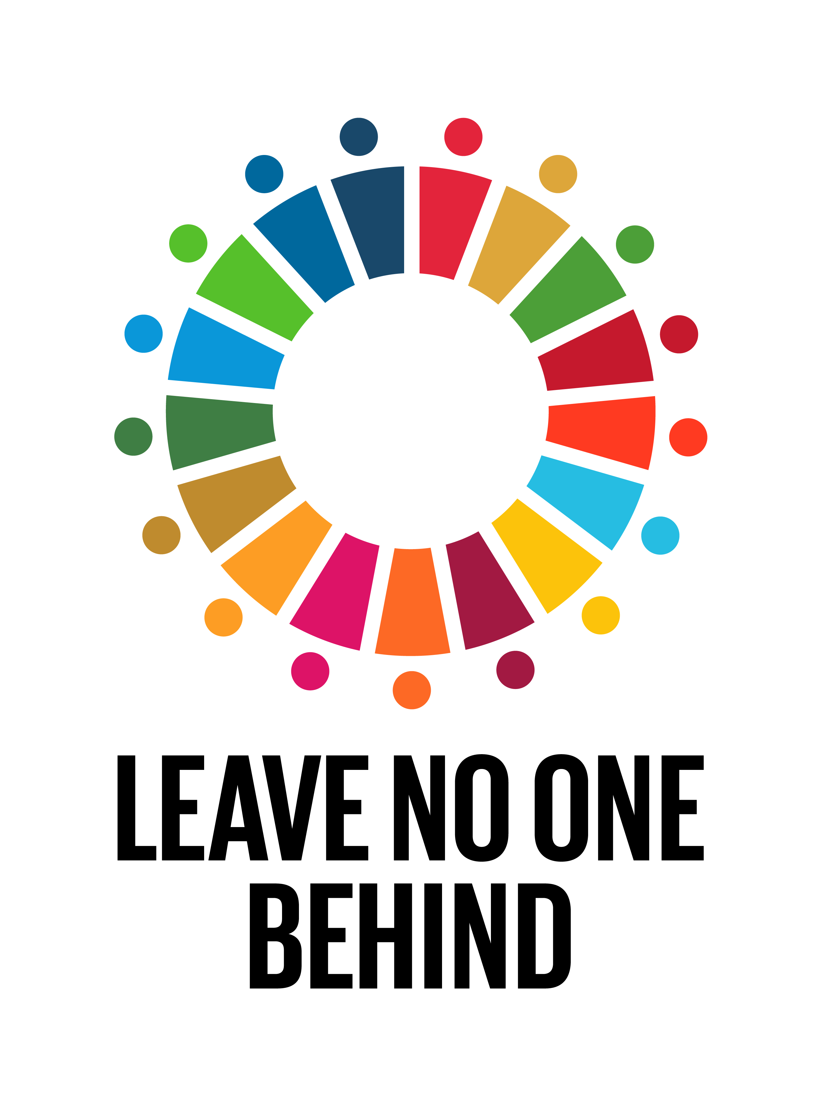 Leaving No One Behind (LNOB) is our mantra. The key objectives within this mantra are: - Inclusion - Pro-Equity - Pro-Equality