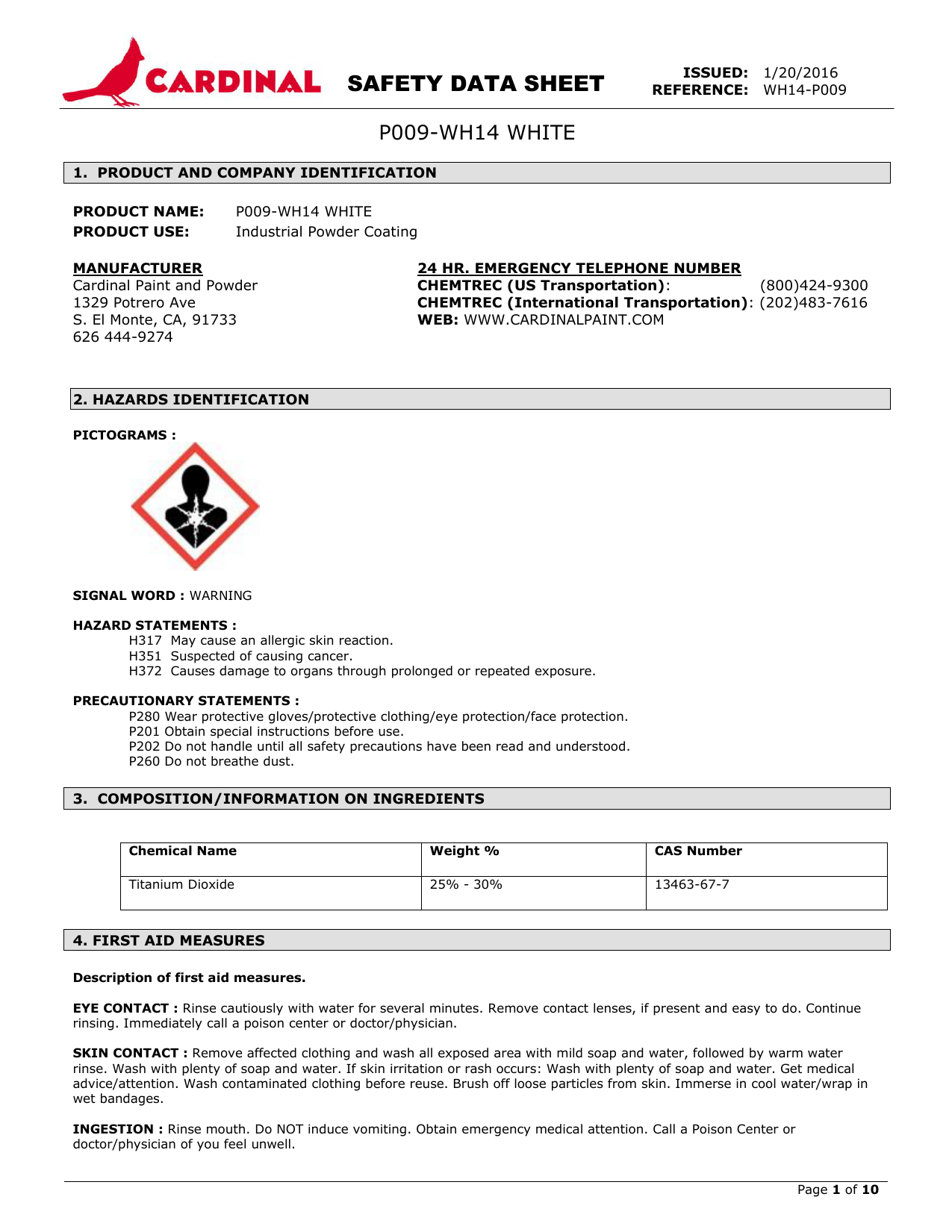 Always read the Safety Data Sheet before using any new chemical or process. It contains important safety information. We'll cover how to read and understand the SDS in a following lesson.