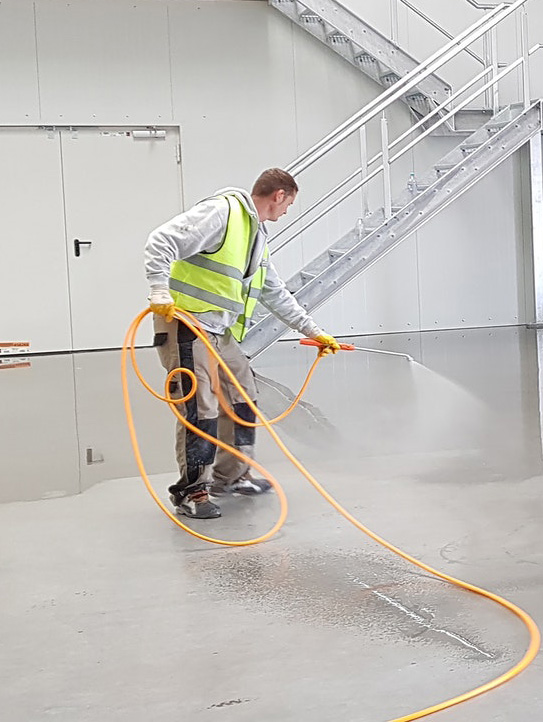 Adopt a cleaning system. Try out different systems and see what works best for you and your company.
