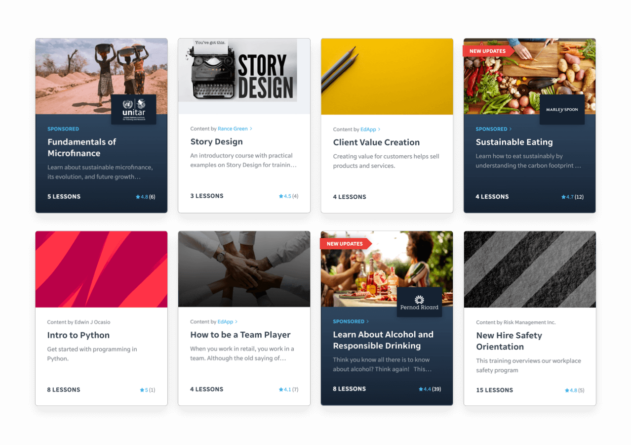 Build up soft skills with our editable content library