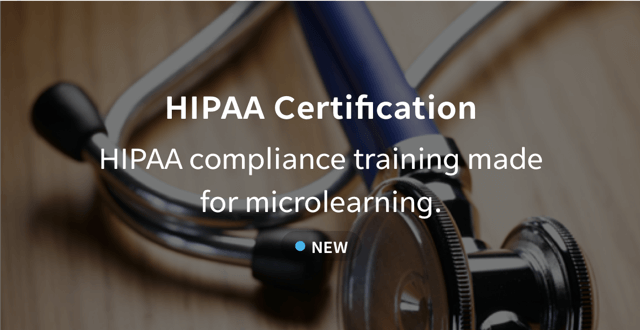 HIPAA compliance courseware added to EdApp's editable content library