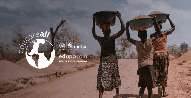 Our journey to impact – EdApp X UNITAR launch Educate All