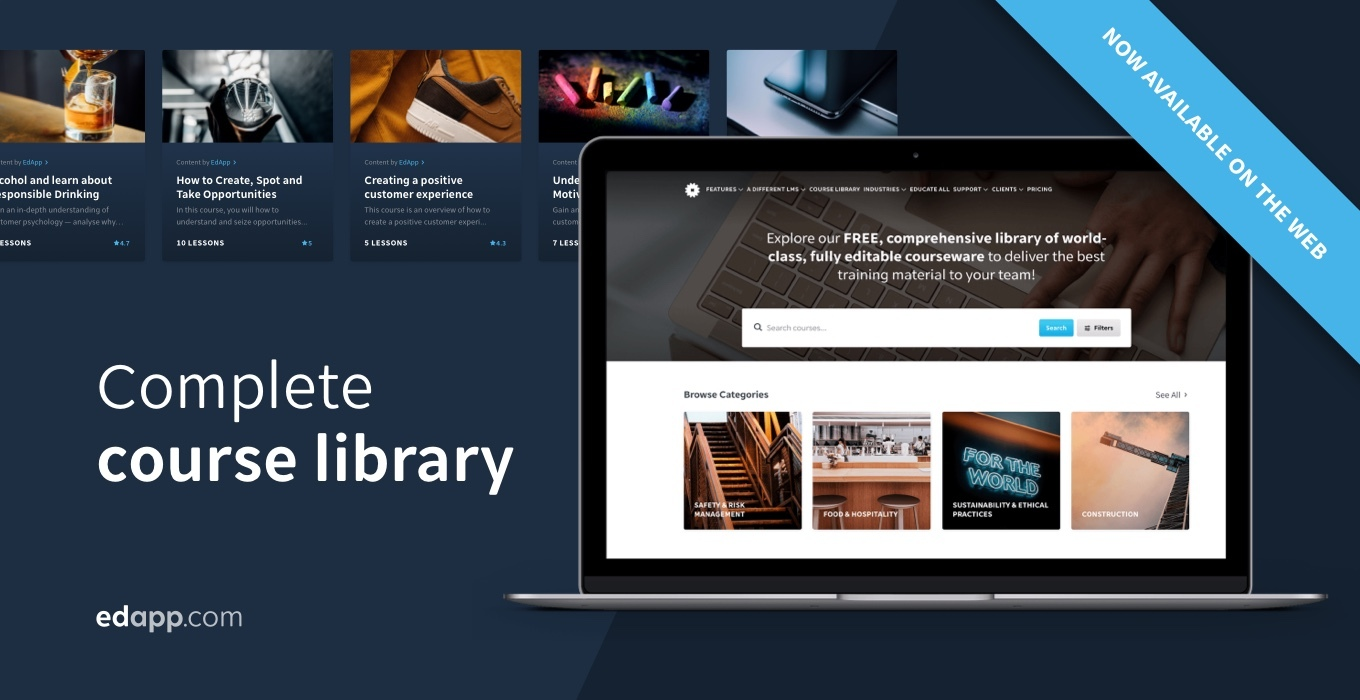 Introducing our complete editable course library, now available on the web