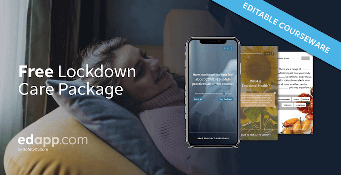 Free courseware: Lockdown Care Package