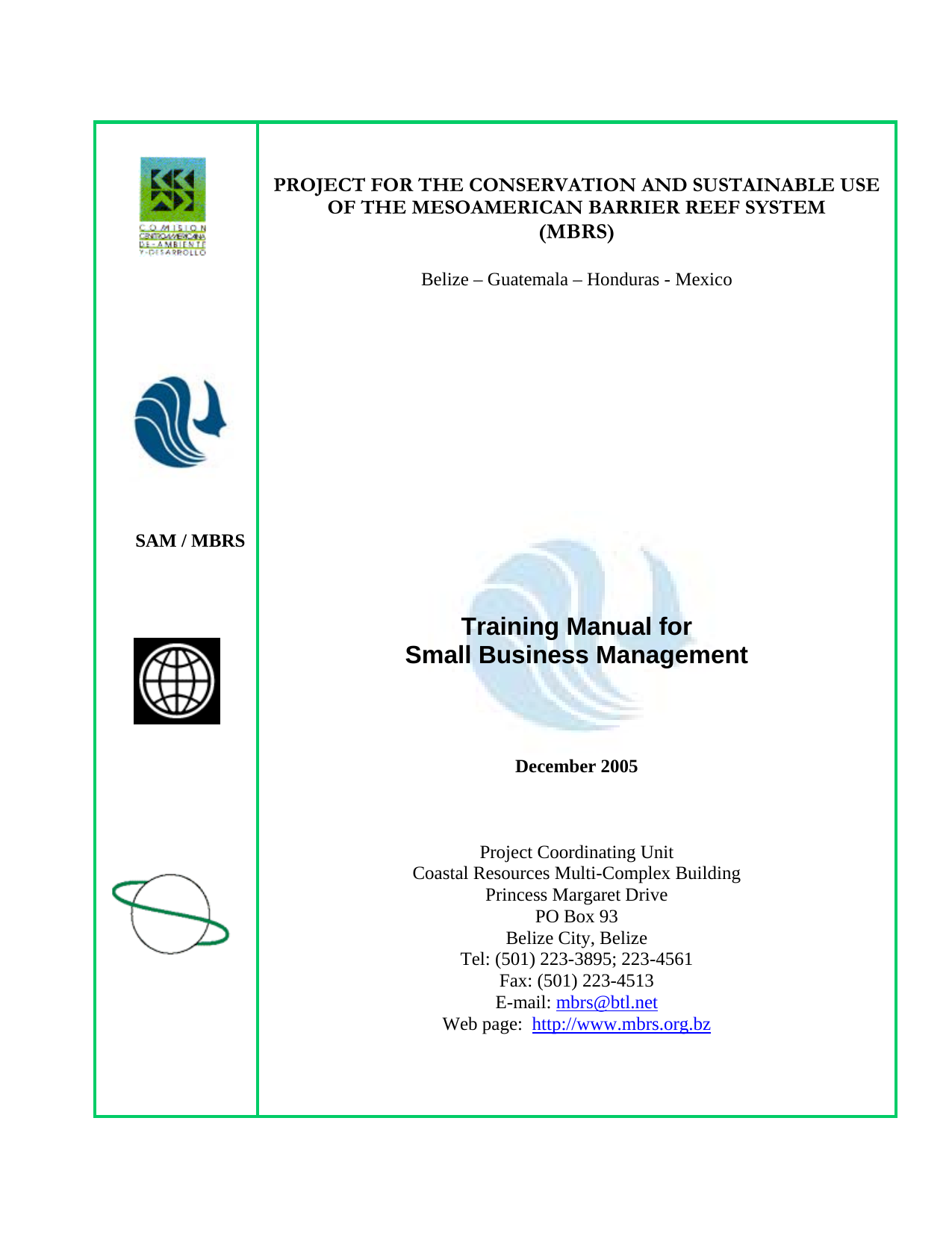 Training Manual For Small Business Management