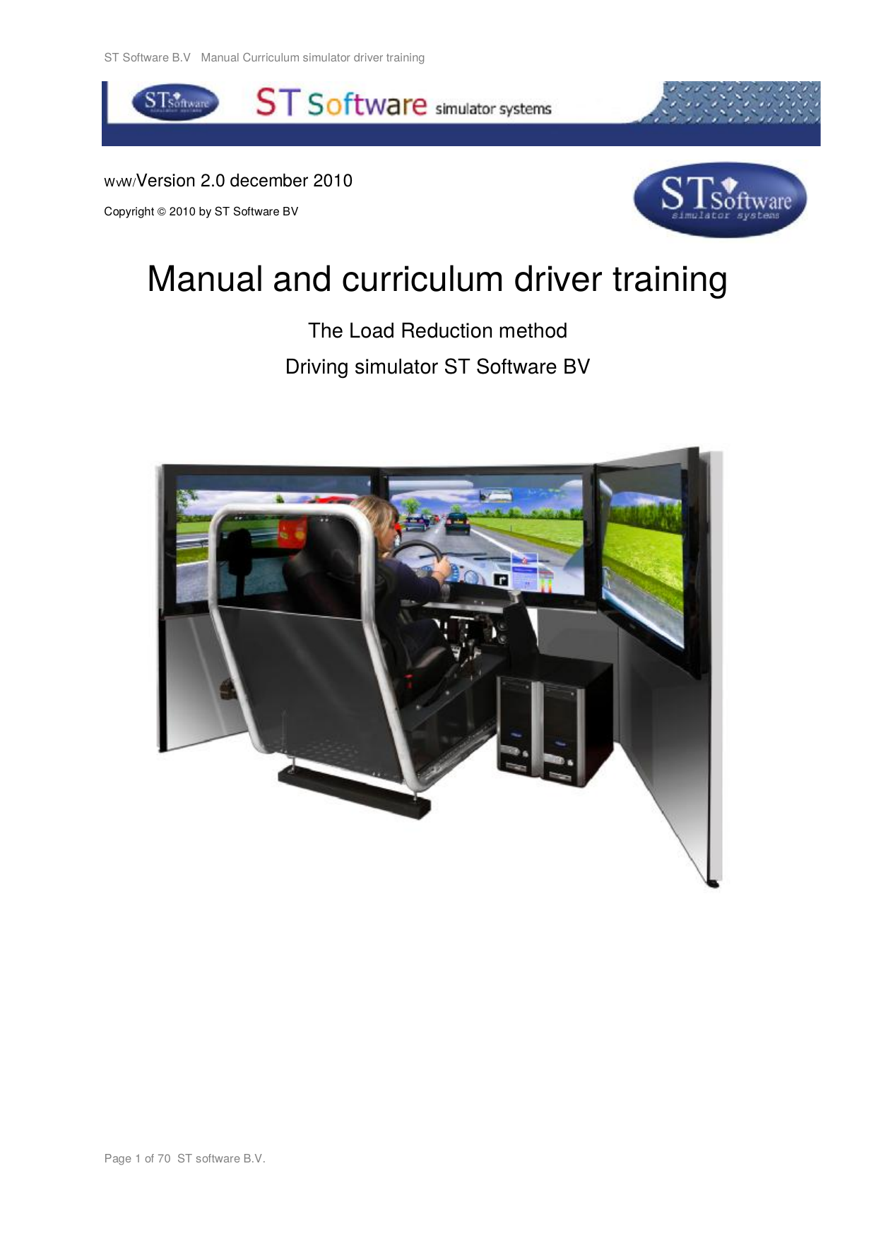 Manual And Curriculum Driver Training