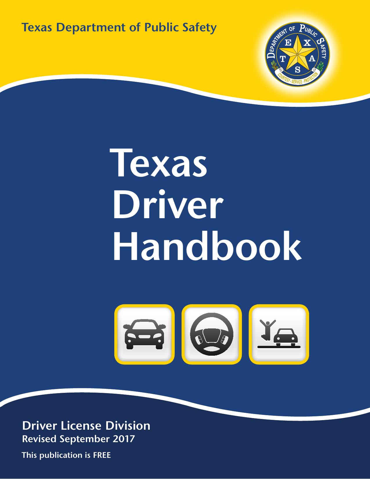Texas Driver Handbook