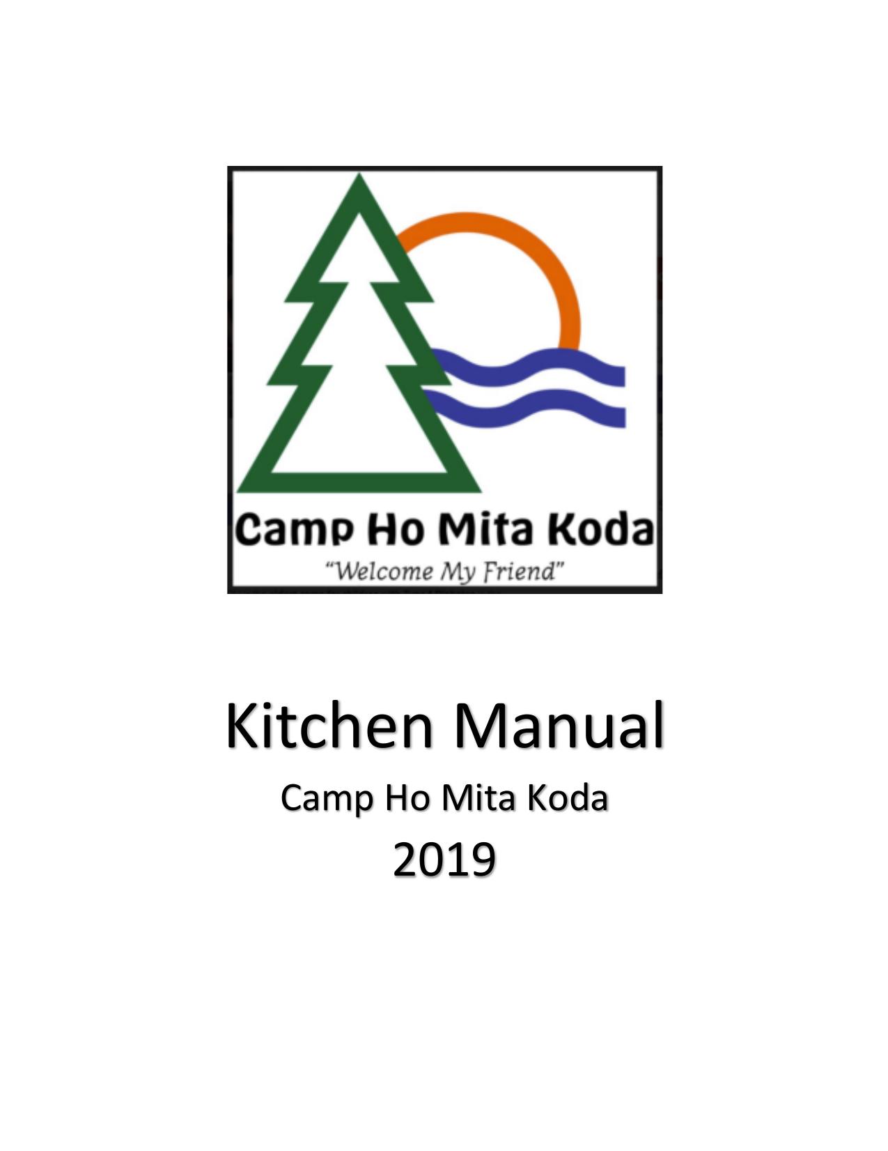 Kitchen Manual