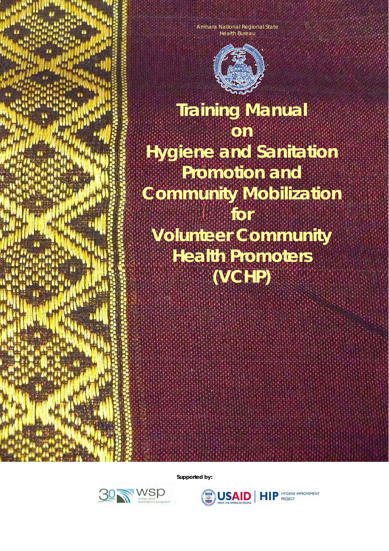 Training Manual On Hygiene And Sanitation Promotion And