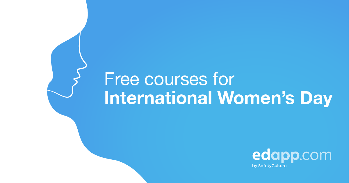 Now trending: New courses to celebrate International Women's Day 2021 at work