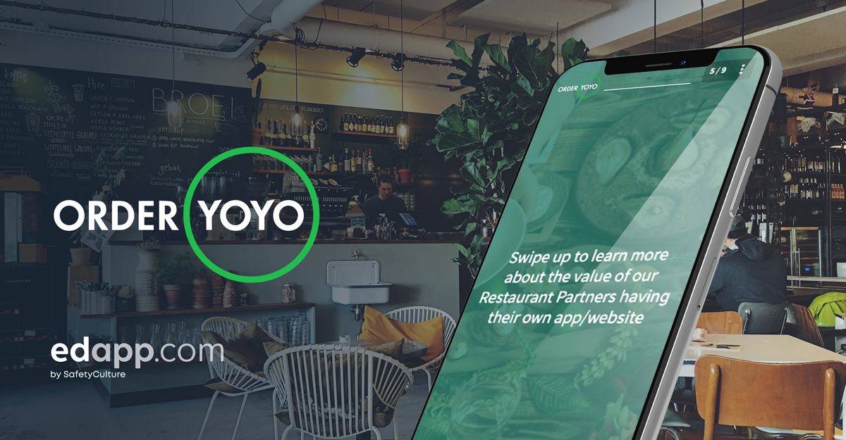OrderYOYO, modern tech company, finds success in training excellence with EdApp