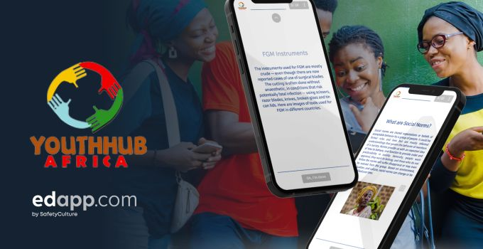 Youthhubafrica selects EdApp mobile learning to educate thousands
