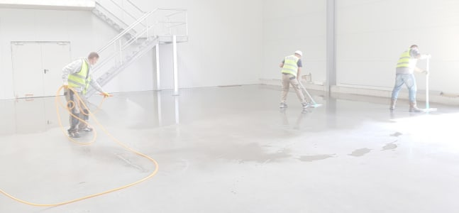 Cleaning Up a Job Site