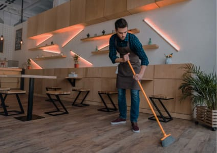Cleaning and Sanitizing in Hospitality