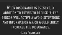 Cognitive Dissonance Content Review